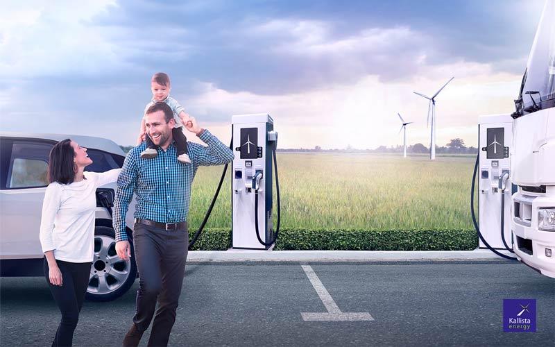 Francia tendrá estaciones de recarga con energía eólica para vehículos eléctricos