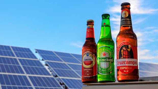 Fabrica de Cerveza funcionando con Energía Solar
